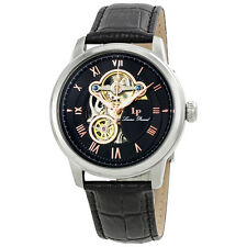 Lucien Piccard Optima Open Heart Automatic Mens Watch LP-12524-01-RA