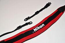 Peso Comfort Strap Per reducing Nikon DSLR Telecamera