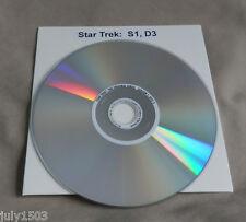 (1) NEW Star Trek Original Series Season 1 Disc 3 Replacement DVD  Remastered