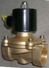 """1"""" Electric Solenoid Valve 110-VAC Diesel Water..."""