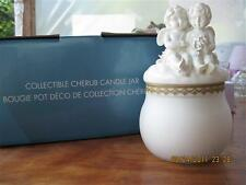 Gorgeous Cherub Candle Jar.by Avon