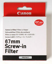Filtro a rosca Canon 67mm UV Filter