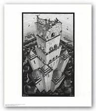 ART POSTER Tower of Babel M.C. Escher