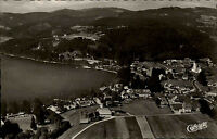 Titisee Schwarzwald vom Flugzeug aus AK ~1950/60 Luftaufnahme Blick zum Feldberg