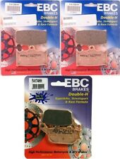 EBC HH Front + Rear Brake Pads (3 Sets) 2007-2014 Suzuki GSF1250 GSX1250