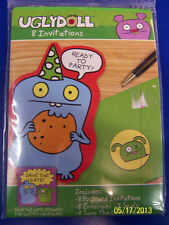 Uglydoll Ugly Dolls Cartoon Kids Birthday Party Supplies Invitations w/Envelopes