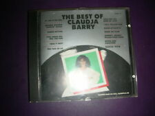 "Disco CD ""The Best of Claudja Barry "" Boogie Woogie Dancing Shoes Hot Production"
