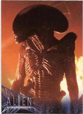 1998 Inkworks Alien Legacy Base Card (35) Slaying the Dragon