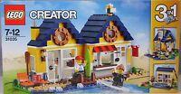 Lego Creator 31035 Strandhütte 3 in 1 Badehaus Ferienhaus mit 2 Figuren NEU