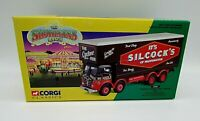 Boxed Corgi, Silcocks of Warrington Foden closed pole truck set Mint 12601