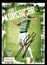 Zsolt Korcsmar  Autogrammkarte SpVgg Greuther Fürth 2013-14 Original +A 127974