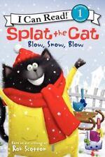 SPLAT THE CAT Snow Blow Snow (Brand New Paperback Version) Rob Scotton