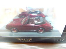 NEO Porsche 911 Carrera Cabrio USA version (met mark red)