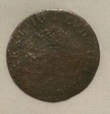 1710 french colonies 30 deniers colonial billon silver coin