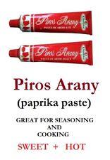 160g Original Hungarian **SWEET & HOT** PIROS ARANY (RED GOLD) - Paprika paste