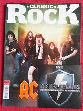 rivista CLASSIC ROCK 170/2012 + CD AC/DC Iron Maiden Montrose Rory Gallagher