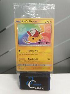 Light play Read description Ash's Pikachu MOVIE PROMO - SM108 - SEALED Pokemon