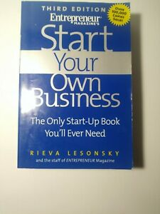 Start Your Own Business by Rieva Lesonsky