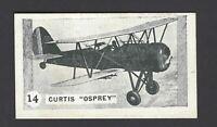 ALLEN - AEROPLANES - #14 CURTIS OSPREY
