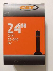 24 x 1 Inner Tube Inner tube 25-540 Straight Schrader Valve SV Wheelchair 24x1