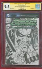 Green Lantern 13 CGC SS 9.6 Brightest Day 55 Variant Lobo Homage Sketch no 8