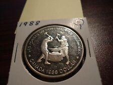 1988 - Canada $1 - Canadian silver dollar