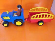 Playmobile Tractor con figura de acción muy Buen Estado