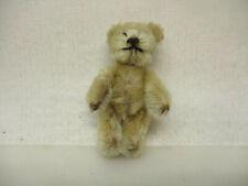 x-10900Älterer Schuco Miniatur Teddy Bär L: ca.70mm,ohne Originalverpackung