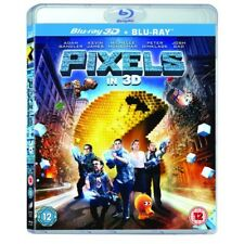 Pixels Blu-ray 3d Region