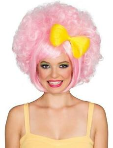 Pastel Cutie Doll Wig Fancy Dress Up Halloween Adult Costume Accessory 2 COLORS