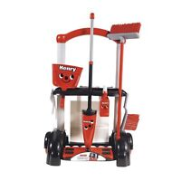 Casdon Henry Cleaning Trolley Toy Broom Brush Shovel Floor Vacuum Cleaner Hoover