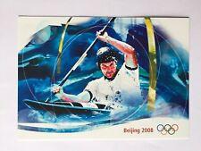 Carte postale pré-timbrée FDC  timbre Suisse 2008. Jeux olympiques