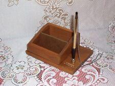 Vintage 12K GF Cross Pen in Cross Pen Counter Stand , E.W.Parker, Inc Jeweler