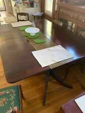 Duncan Phyfe style Dining Room Table and Chairs