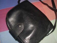 bolso loewe vintage antiguo ver fotos hebilla mitad piel negro con asa larga ver