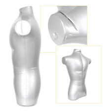 Inflatable Male Torso Model Half Body Mannequin Top Clothing Display Props co