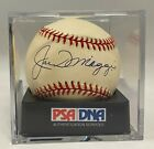 Joe DiMaggio Signed Baseball Autograph PSA/DNA 8 NM-MT AUTO GRADE Yankees HOF