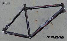 """Müsing Offroad Comp Mountainbike Rahmen 54 cm Alu schwarz matt 26"""" Disc"""