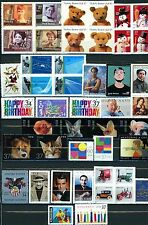 2002 Commemorative Set of 45 Different MNH Stamps Includes ALL Stamps Shown