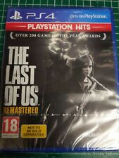 The Last of Us Remastered-PlayStation Hits (PS4, 2018) Brand New Sealed