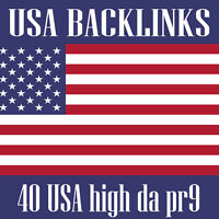 40 USA high da pr9 backlinks,safe seo link building service - SEO Service Agency