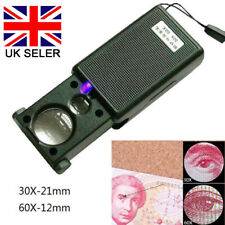JEWELLERS MONOCLES 2.0X//3.5X Zoom Magnifier Insepction Eye Lens Close-Up Loupe
