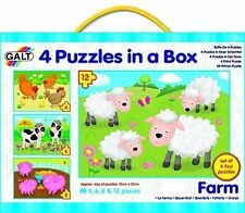 Galt Farm - 4 in 1 Jigsaw Puzzle