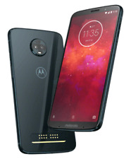 Motorola - Moto Z3 Play with 64GB Memory Cell Phone (UNLOCKED) - Dual sim