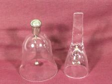 New ListingTwo Crystal Bells Small Size