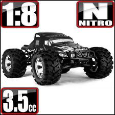 REDCAT RACING EARTHQUAKE 3.5 1/8 SCALE NITRO RC MONSTER TRUCK SEMI BLACK~NEW