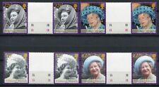 FALKLAND 2002 Tod der Königinmutter Elisabeth Stegpaare 849-852 **