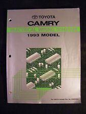 Toyota Camry Electrical Wiring Diagram 1993 Model (Paperback, 1992)