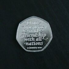 2020 Brexit 50p Fifty Pence Coin in Uncirculated Condition - Brand New