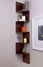 Exclusive Furniture Zig Zag Corner Wall Shelf